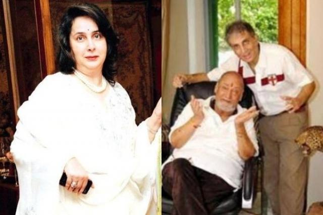 Neila Devi's relation with Shammi Kapoor's children