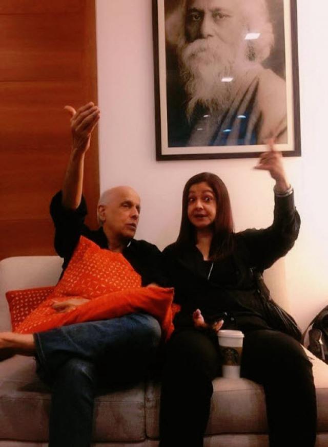 Pooja Bhatt and Mahesh Bhatt Relationship