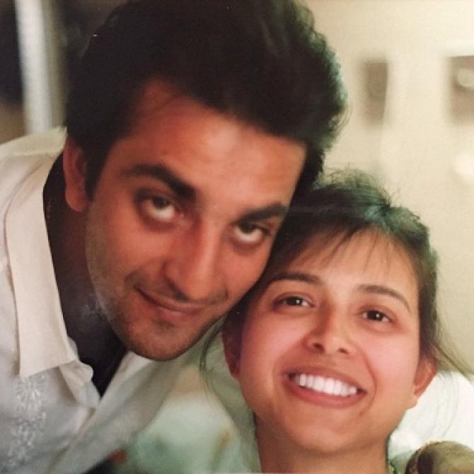 sanjay dutt and richa love story