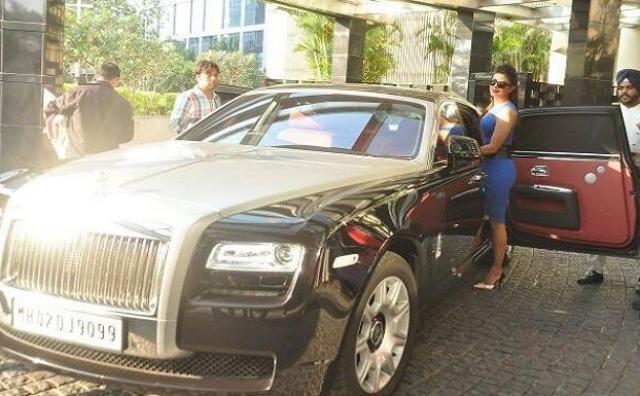 Priyanka Chopra's Rolls-Royce Ghost