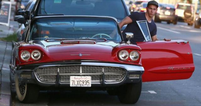 Priyanka Chopra Nick Jonas' 1960 Ford Thunderbird