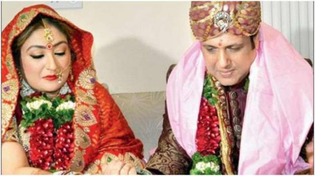 govinda and sunita marriage