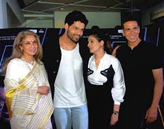 Karan Kapadia With Dimple Twinkle Akshay