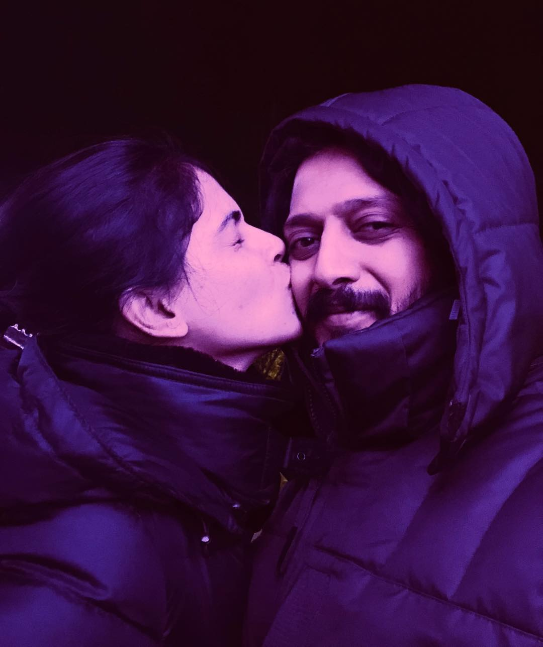riteish and genelia carrier
