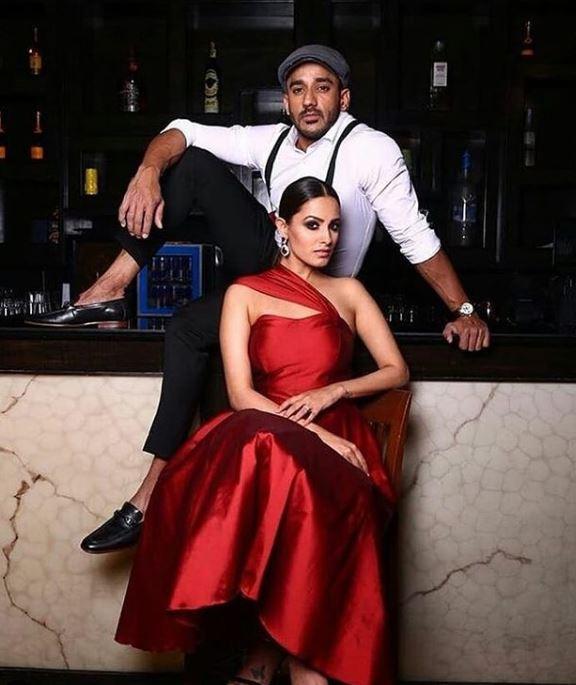 Anita Hassanandani And Her Husband Rohit Reddy