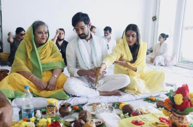 gujarati wedding grih shanti puja