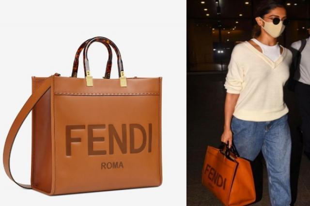 Deepika Padukone Fendi Tote Bag