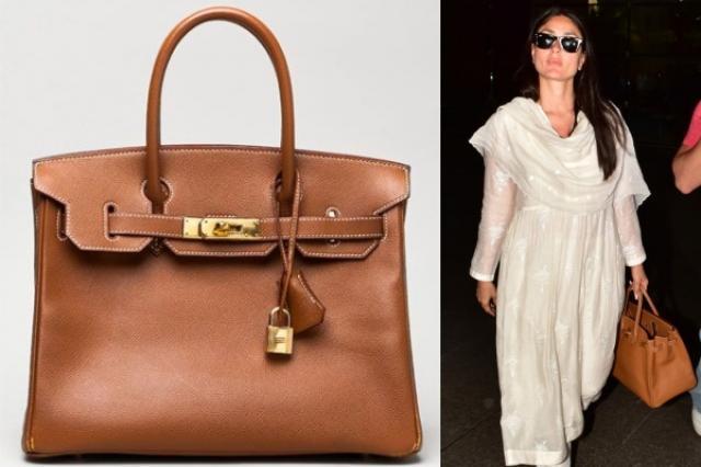 Kareena Kapoor Khan Hermès Birkin Bag