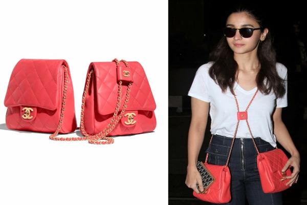 Alia Bhatt Chanel Side-Pack Bag