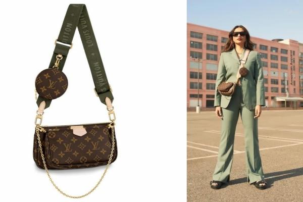 Sonam Kapoor Louis Vuitton Double Pochette Bag