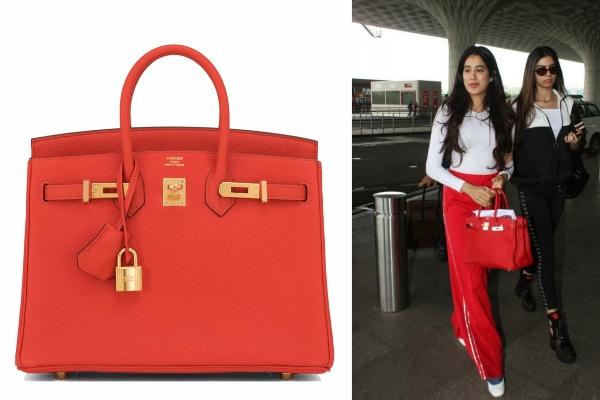 Janhvi Kapoor's Hermès Birkin Bag