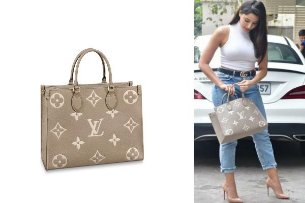 Nora Fatehi's Louis Vuitton tote