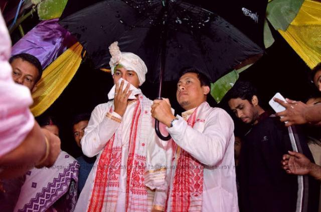 best man in Assam Wedding