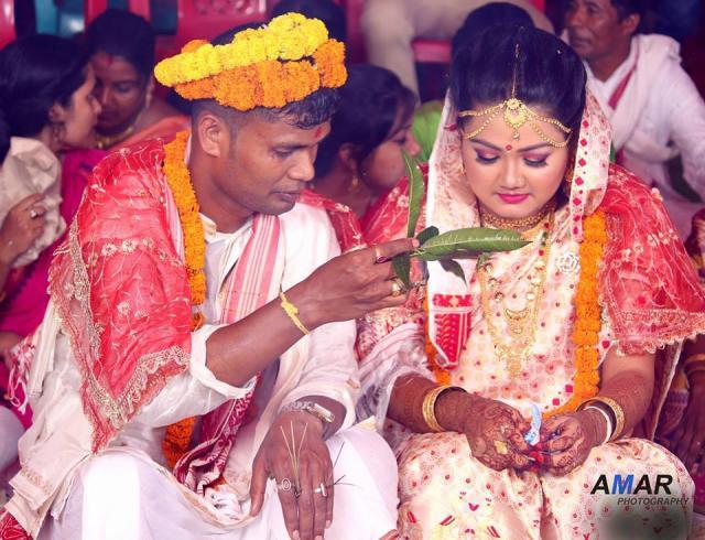vidai ceremony in assam wedding