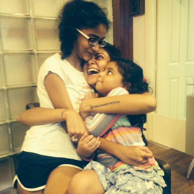 Sushmita Sen With Her Daughters