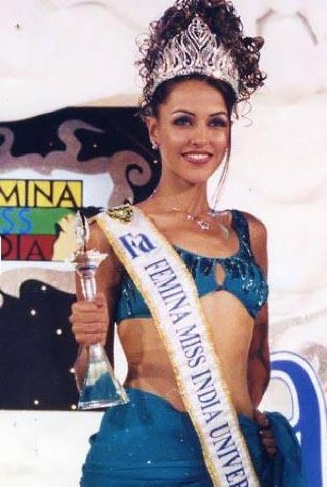 Neha Dhupia Miss India Universe