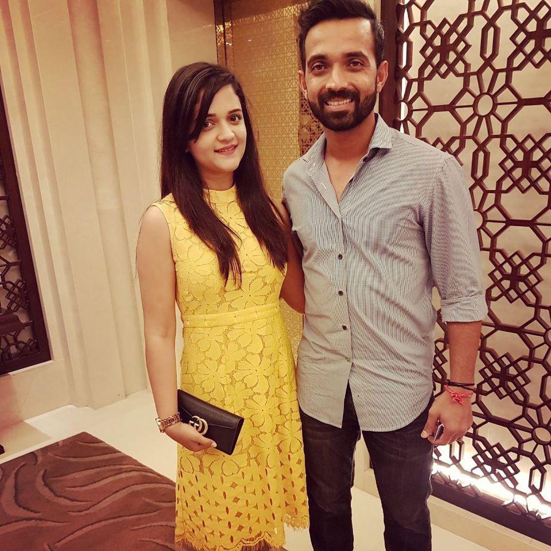 Ajinkya Rahane Love Story