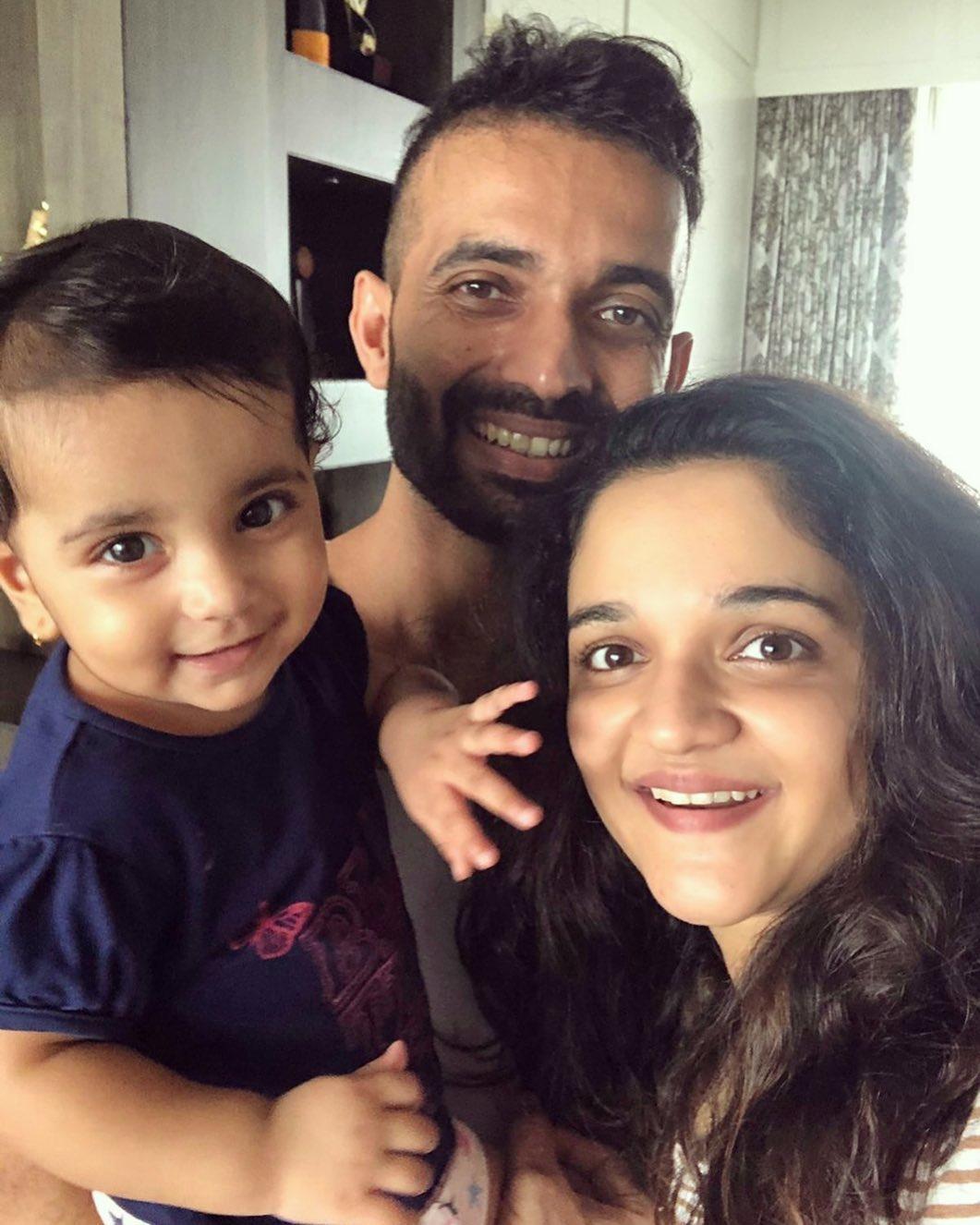 Ajinkya Rahane And Radhika Dhopavkar