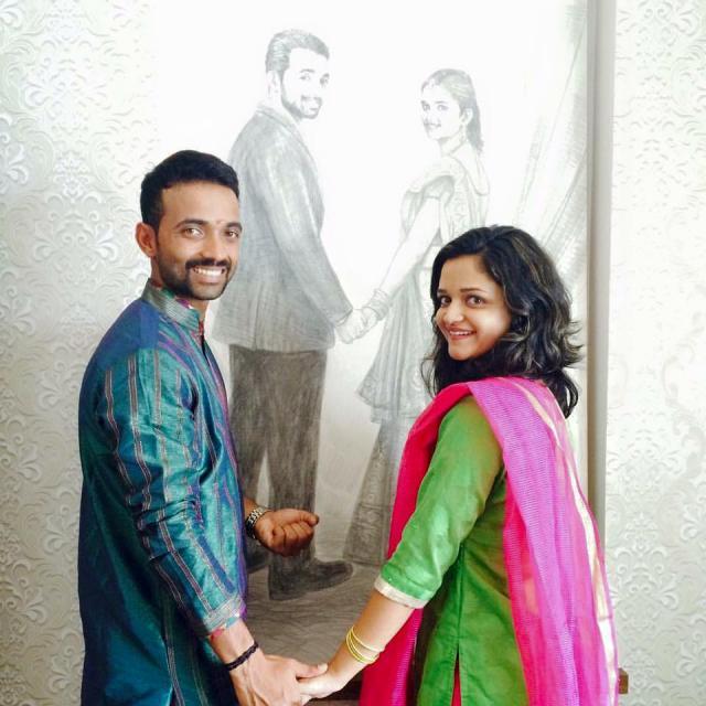 Ajinkya Rahane And Radhika Dhopavkar Love Story