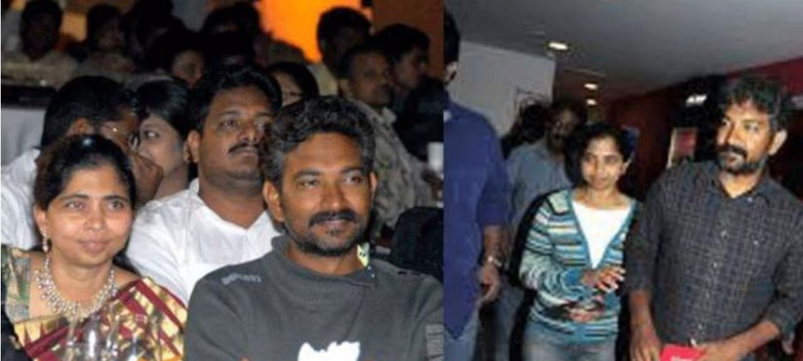 ss rajamouli with his wife