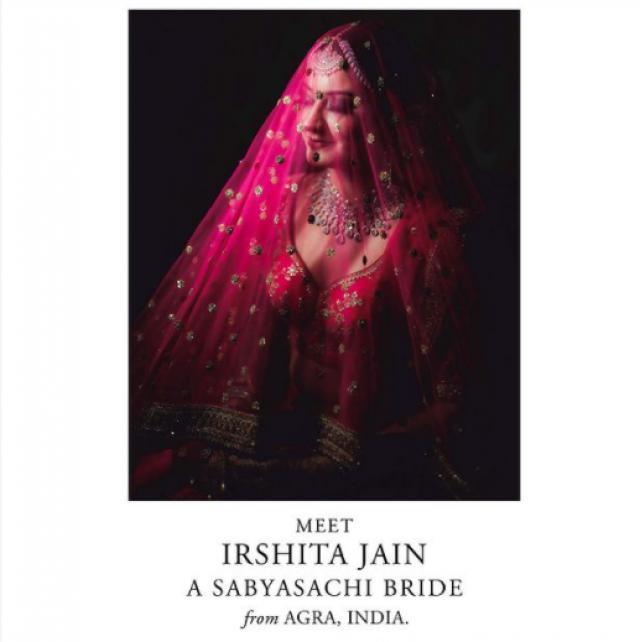 Sabyasachi Mukherjee bridal