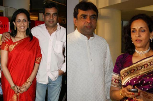paresh rawal and his wife