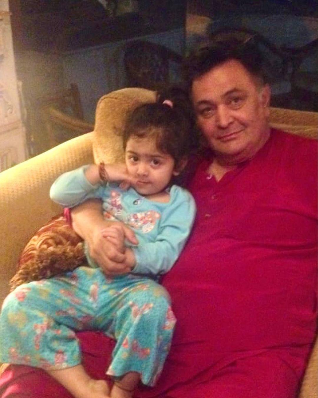 Samara Sahni With Rishi Kapoor