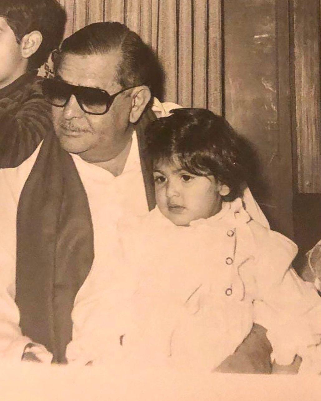 Riddhima Sahni With Rishi Kapoor