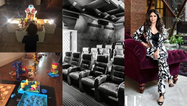 Shah Rukh Khan house inside photo