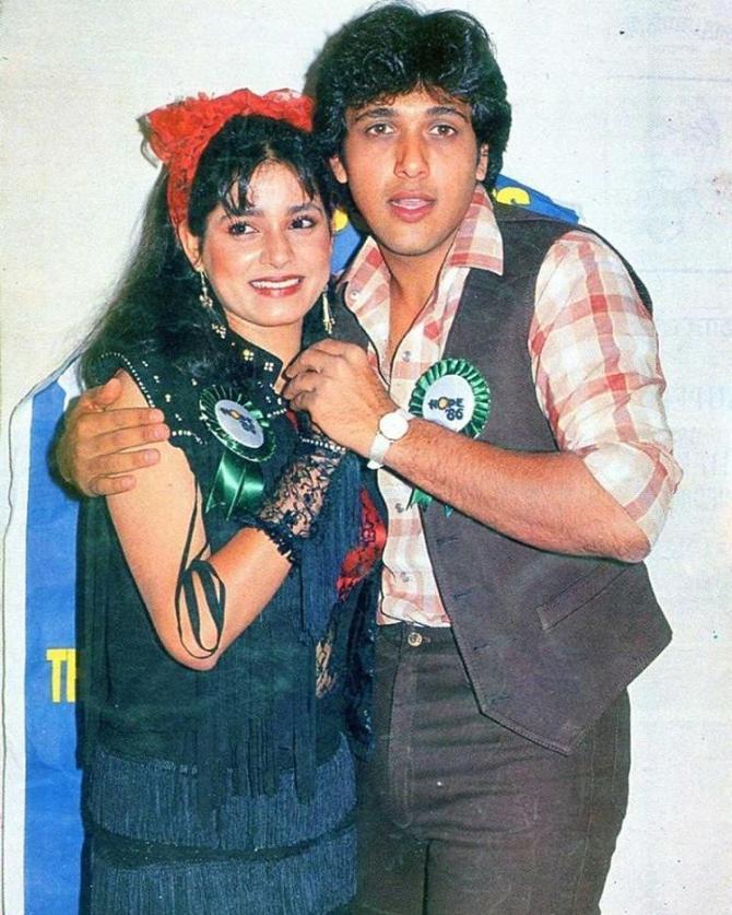 Neelam Kothari And Govinda