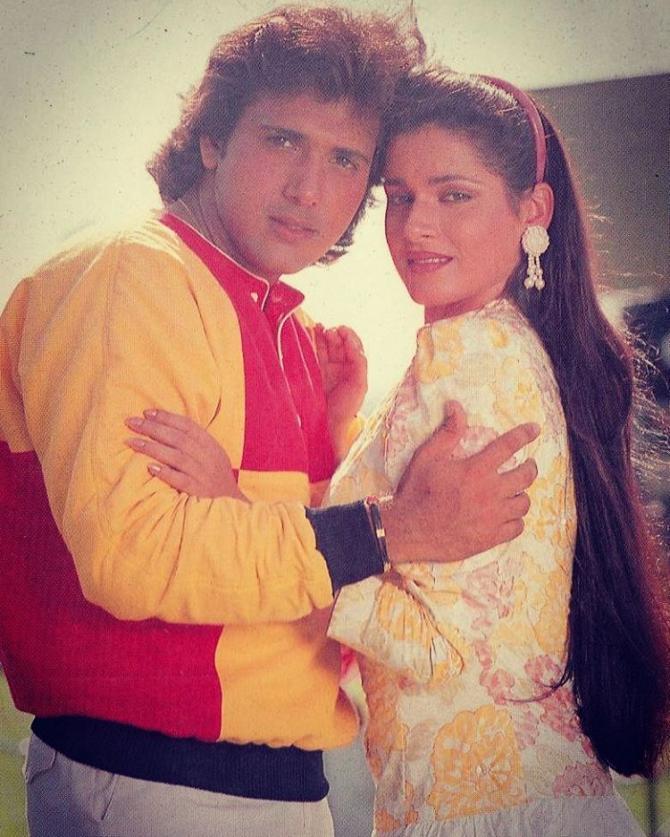 Govinda And Neelam Kothari