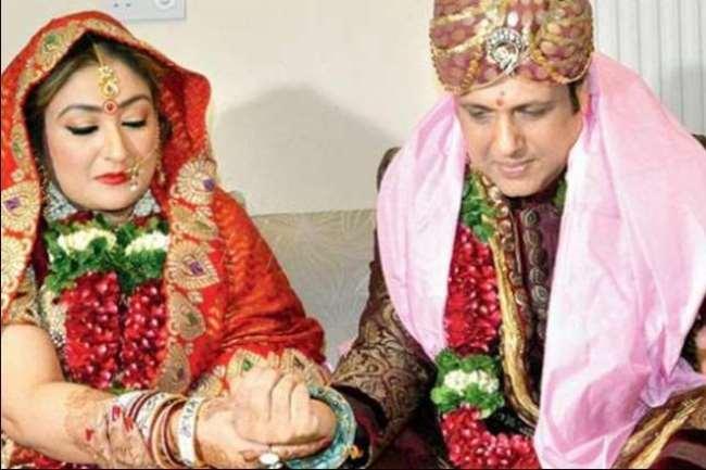 Govinda And Sunita Wedding Photo