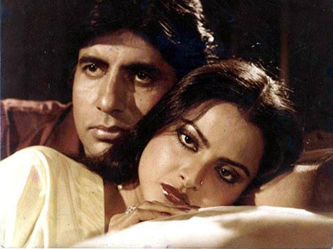 Amitabh Bachchan rekha