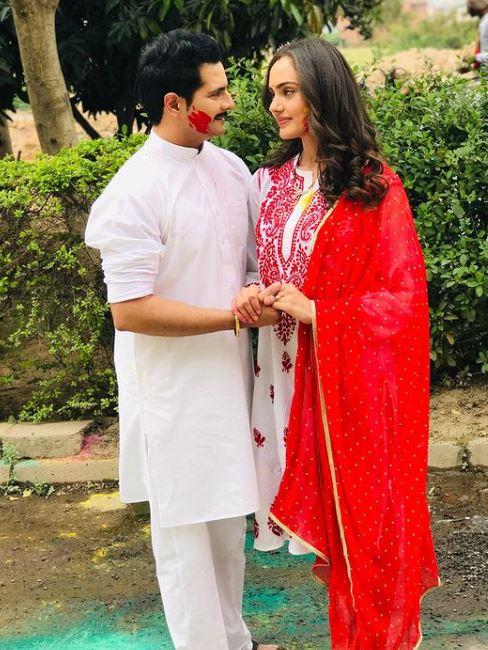 Karan Mehra With Rumoured GF Himanshi Parashar