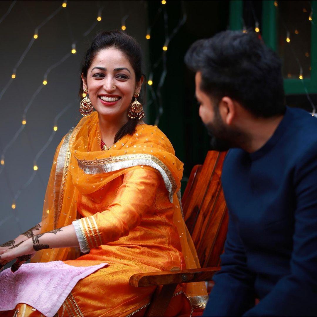 Yami Gautam Mehendi Ceremony Photo