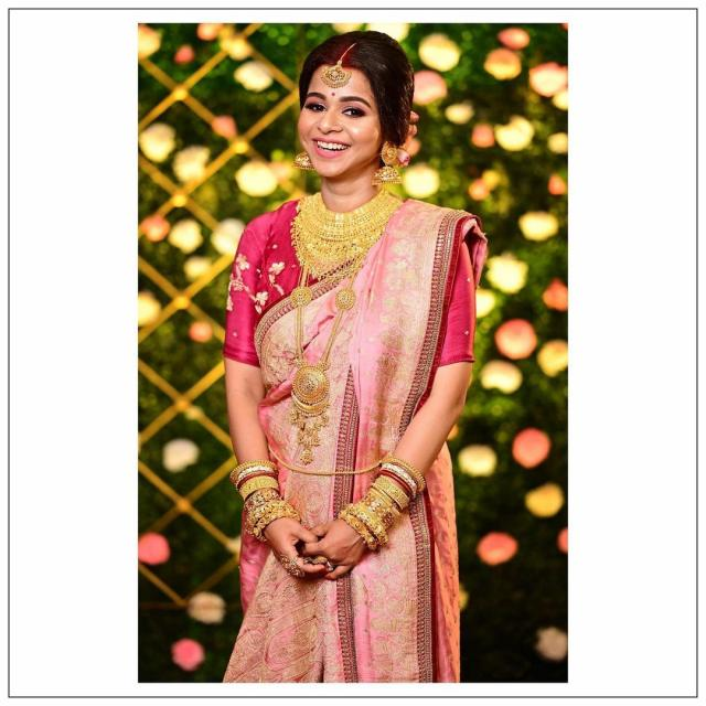 bangali Bridal reception look