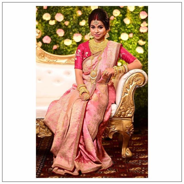 bangali Bridal reception look photos