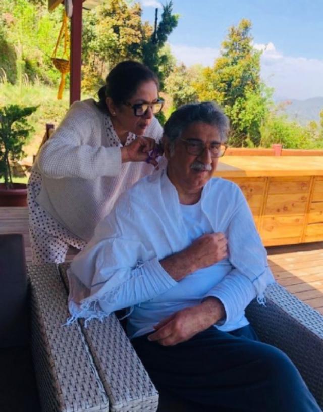 Neena Gupta With Husband