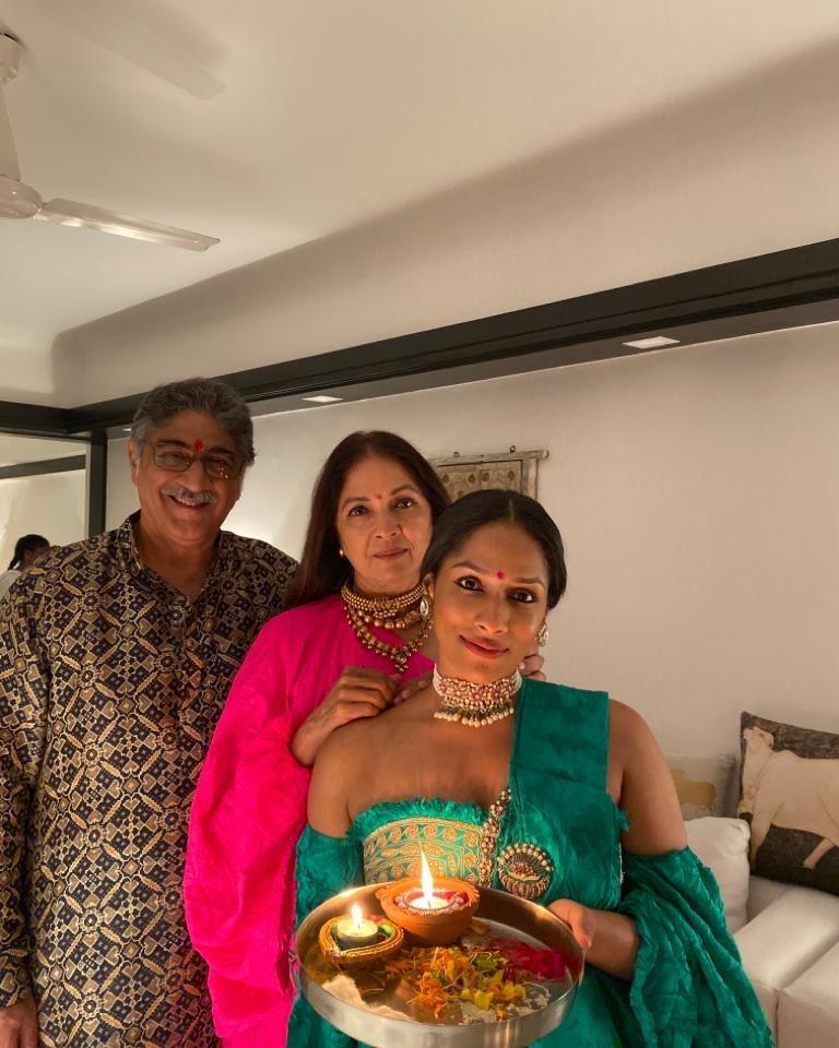 Neena Gupta With Vivek Mehra