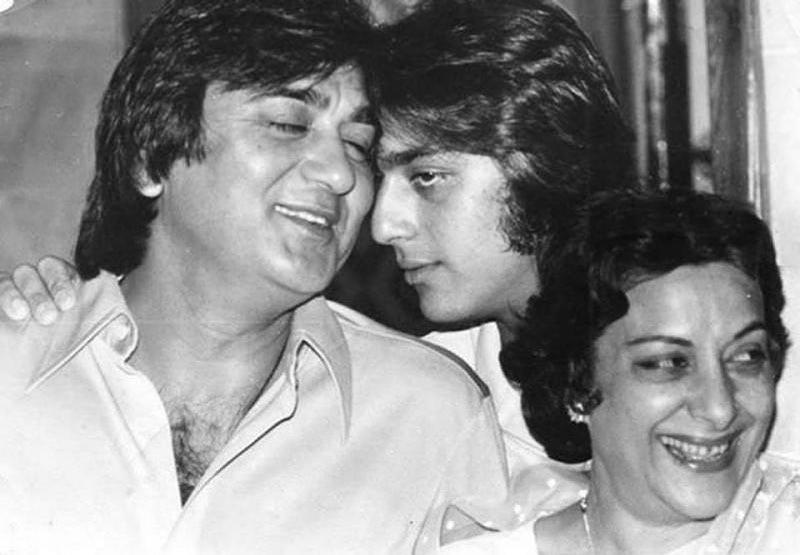 Nargis Dutt And Sunil Dutt