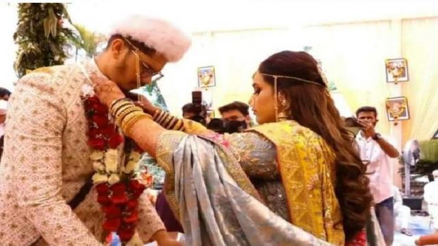 Maharashtrian Bride Latisha And Groom