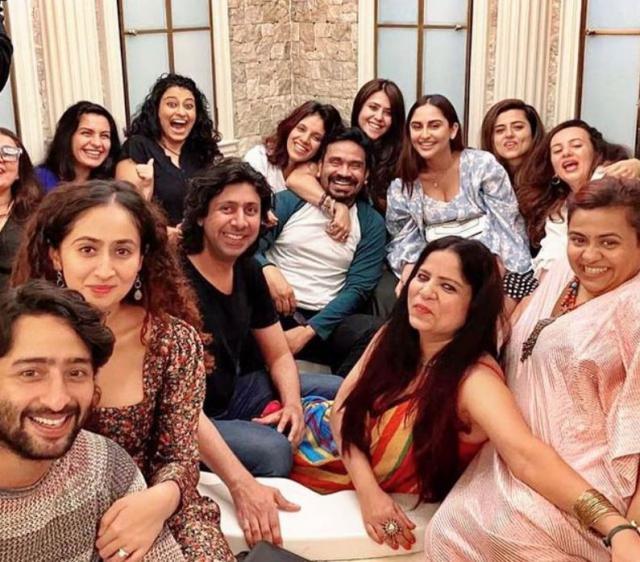 Ekta Kapoor With Friends