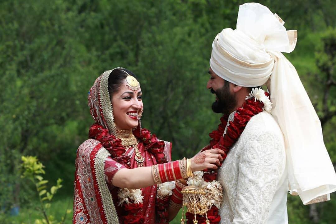Yami Gautam and Aditya Dhar Wedding