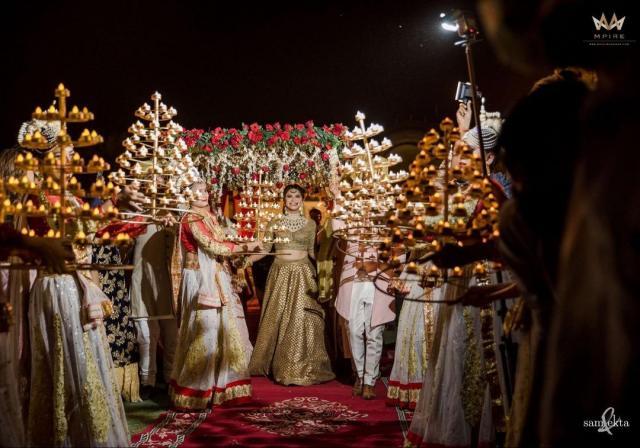 bridal grand entry