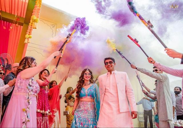 bridal grand entry photos
