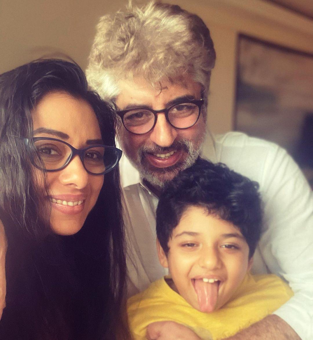 Rupali Ganguly Family