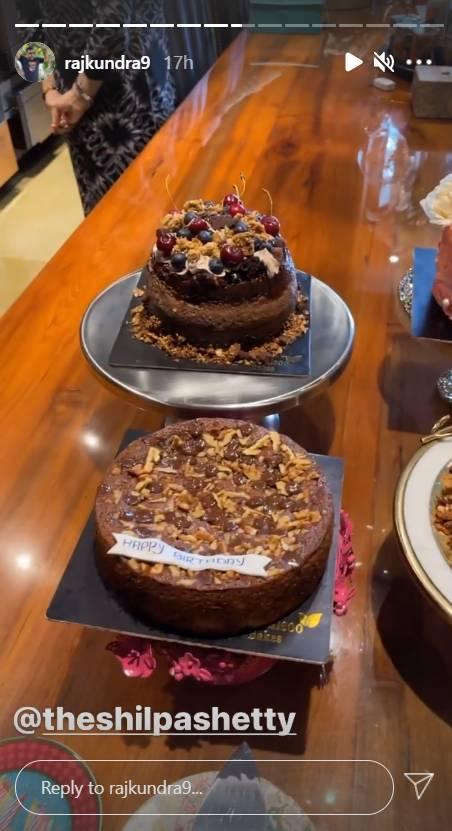 shilpa shetty birthday celebration