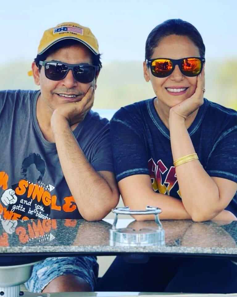 mona singh with gaurav
