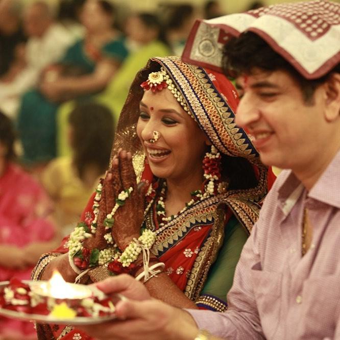 Rupali Ganguly With Husband