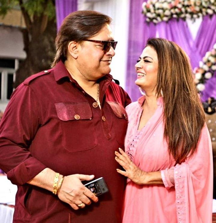 Sheeba With Her Husband Akashdeep